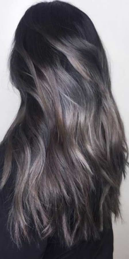 sombre babylights winter hair colors