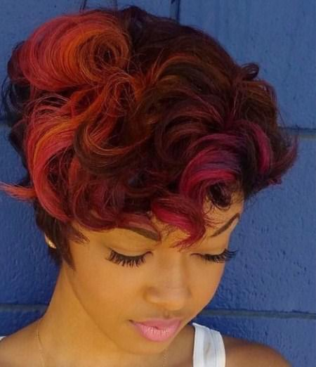 sweet and sorbet streaks best short hair with highlights