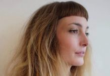 tousled hairstyles with cropped bangs layered haircut with bangs