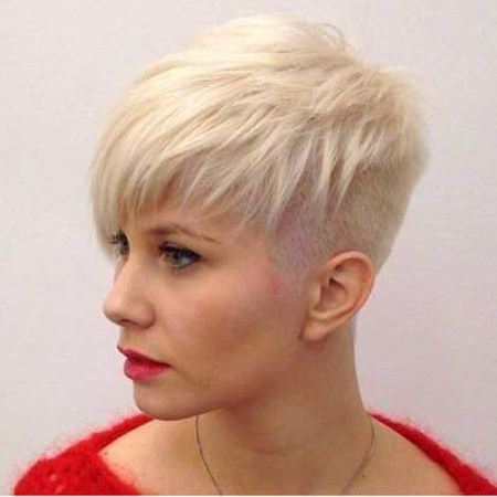 undercut pixie short hairstyles for fine hair