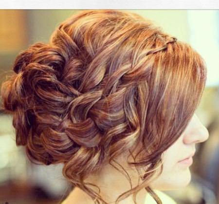 waterfall braid updos for long hair