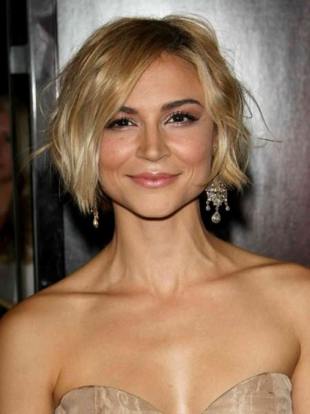 wavy bob short hairstyles for women