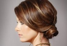 Low Bun Formal and classy bun hairstyles