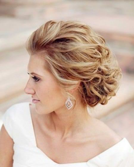 Simple loose ringlet updos for curly hair