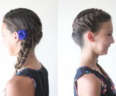 fishtail braid braidstyles for girls