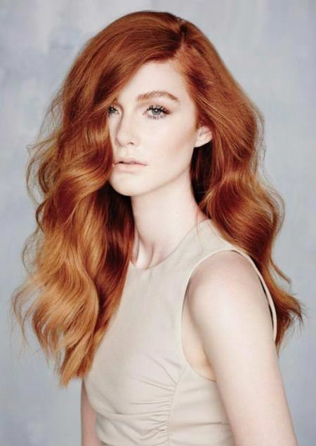 ginger red shades of red hair for women