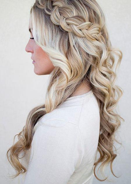 half dutch braid hairstyles for long thick hair