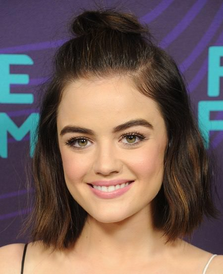 half top knot hairstyles for teenage girls