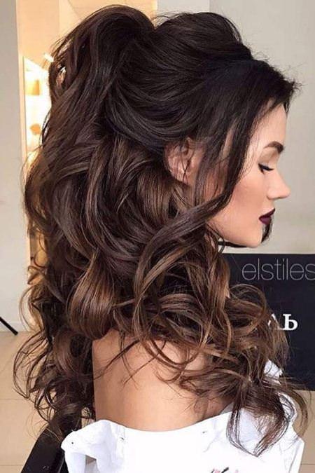 half up wedding hairstyles for medium hair
