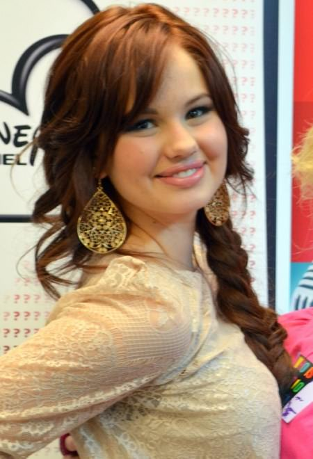 messy braid with bangs hairstyles for teenage girls
