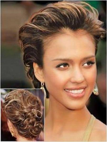 messy french twist wedding hairstyles for medium hair