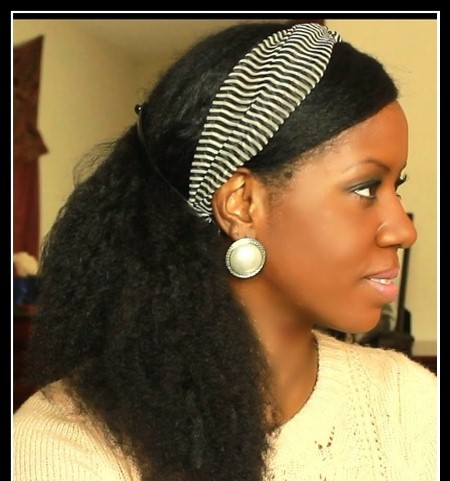natural hair side ponytail cool solutions for black coils
