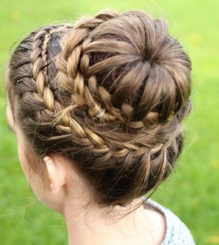 princess crown braid crown braids