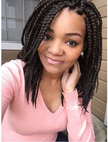 short box braidstyles for girls