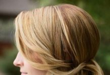 side bun with side bangs side bun hairstyles