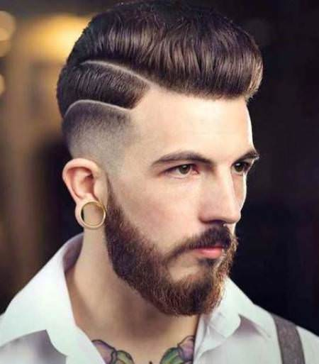One Side Hairstyle Mens Hairstyles By Unixcode
