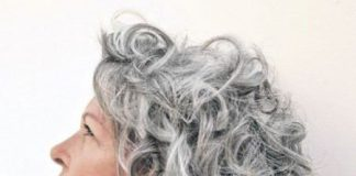 Romantic curls hairstyles for gray hair different hairstyles for gray hair