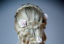 V shaped wedding downdo stylish ideas for brides