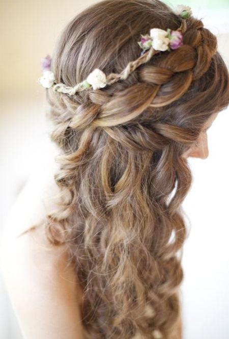 braided wedding hairstyles wedding hair wedding curly hairstyles