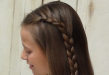 half french braided half braided hairstyles
