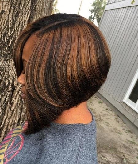 honey rain down short weave hairstyles