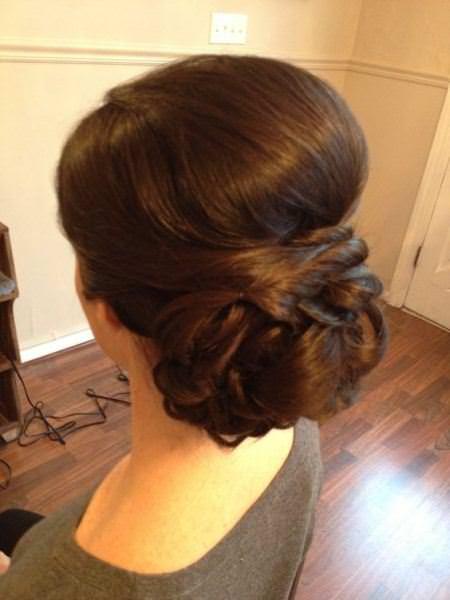 low chignon beehive hairdos