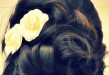 rolled curled homecoming updos