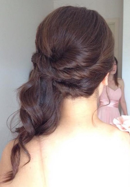 romantic style for natural hair half up and half down wedding hairstyles