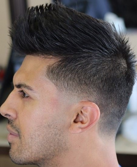 textured tapered fade for thick hair hairstyles for men with thick hair
