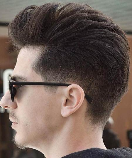 the pompadour men's cut hairstyles for men with thick hair
