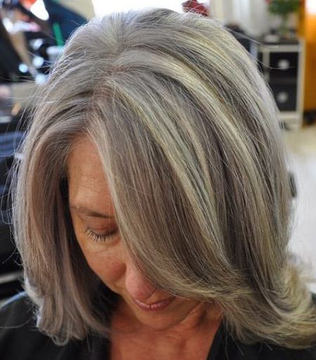 20 Lovely Hairstyles And Haircuts For Women Over 70